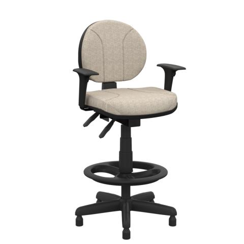 Móveis para Escritório: Cadeira operativa executiva caixa  - Plaxmetal