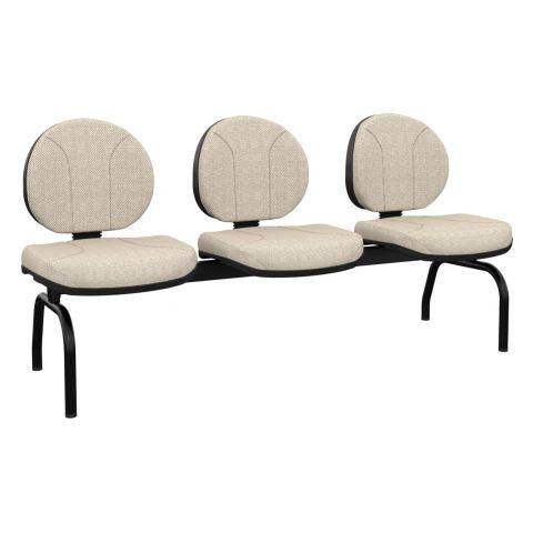 Móveis para Escritório: Cadeira operativa longarina executiva - Plaxmetal