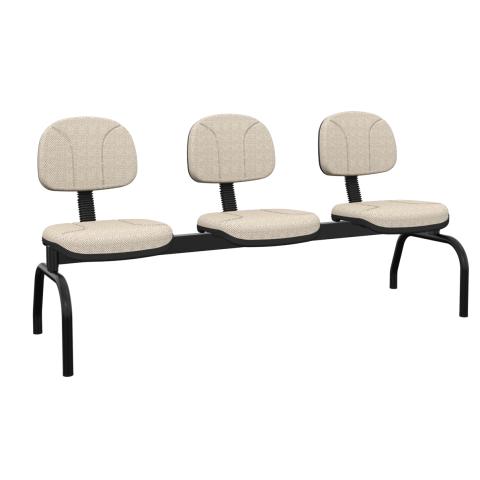 Móveis para Escritório: Cadeira operativa longarina secretária - Plaxmetal