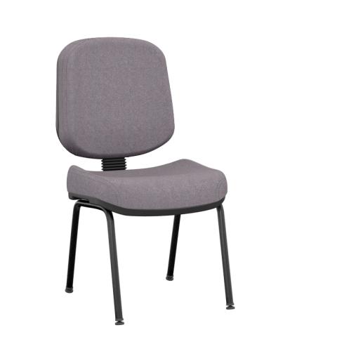 Móveis para Escritório: cadeira operativa plus diretor fixa 04 pés - Plaxmetal