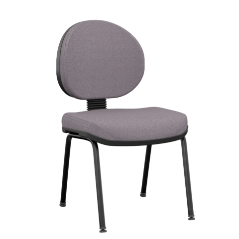 Móveis para Escritório: Cadeira operativa plus executiva fixa 04 pés - Plaxmetal