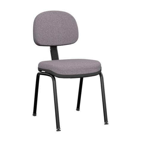 Móveis para Escritório: Cadeira operativa plus secretária fixa 04 pés  - Plaxmetal