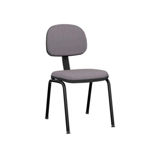 Móveis para Escritório: Cadeira operativa plus secretária fixa 04 pés slim  - Plaxmetal