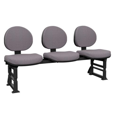 Móveis para Escritório: Longarina operativa plus executiva - plaxmetal