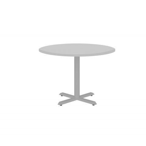 Móveis para Escritório: Mesa de reunião circular -  pé metálico, Lexus - Gebb Work