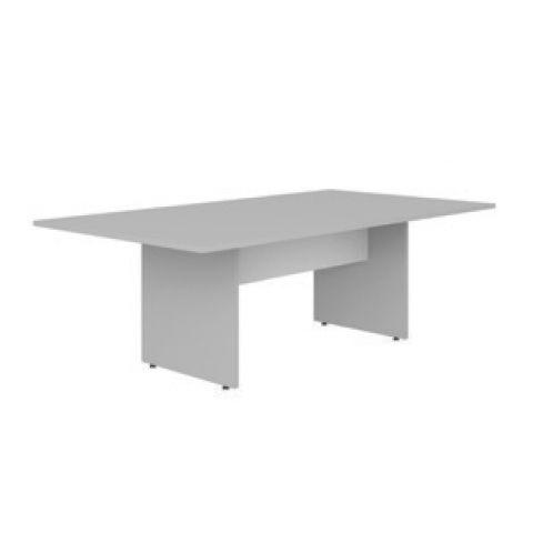 Móveis para Escritório: Mesa de reunião retangular, pé painel, Lexus - Gebb Work