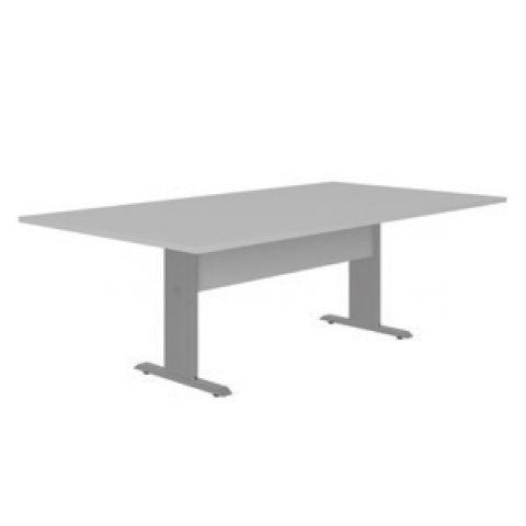 Móveis para Escritório: Mesa de reunião retangular- pé metálico, Lexus - Gebb Work