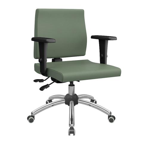 Móveis para Escritório: Cadeira Izzi executiva - Plaxmettal