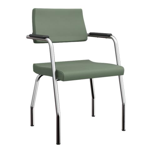 Móveis para Escritório: Cadeira Izzi fixa 04 pés  - Plaxmetal