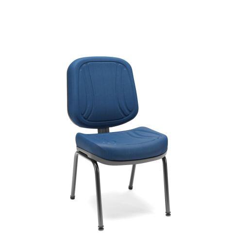 Móveis para Escritório: Cadeira diretor fixa 04 pés, Premium - Plaxmetal