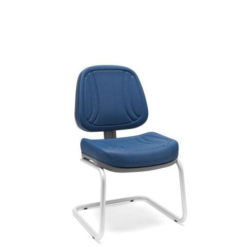 Móveis para Escritório: Cadeira executiva  aproximação em S, Premium - Plaxmetal
