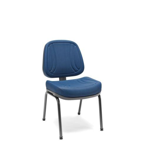 Móveis para Escritório: Cadeira executiva fixa 04 pés, Premium - Plaxmetal