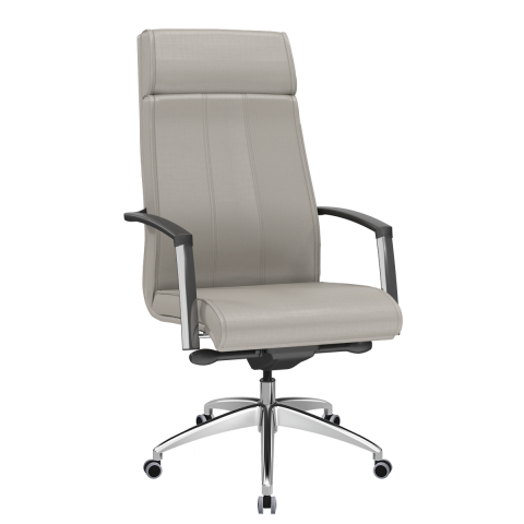 Móveis para Escritório: Cadeira presidente, Suprema - Plaxmetal