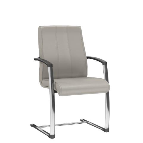 Móveis para Escritório: Cadeira aproximação em S, Suprema - Plaaxmetal