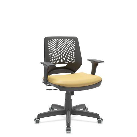 Móveis para Escritório: Cadeira giratória, Beezi - Plaxmetal