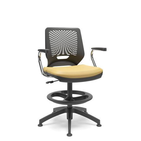 Móveis para Escritório: Cadeira caixa, Beezi - Plaxmetal