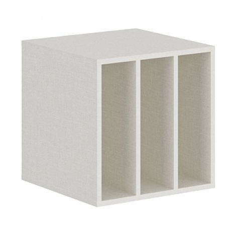 Móveis para Escritório: Nicho 03 vãos adaptável em armário, Edge - Gebb Work
