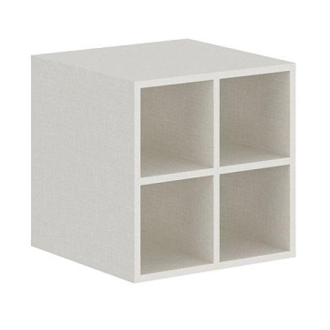 Móveis para Escritório: Nicho 04 vãos adaptável em armário, Edge - Gebb Work