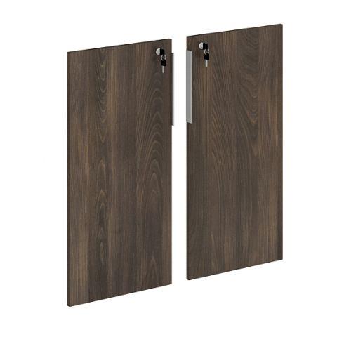 Móveis para Escritório: Conjunto 02 portas baixos em MDP, Edge- Gebb Work