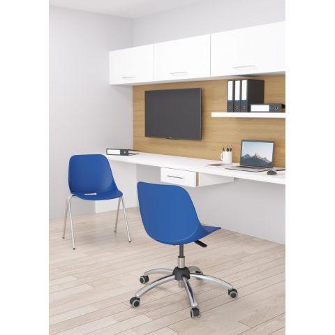 Móveis para Escritório: Cadeira Quick giratória operacional, Plaxmetal