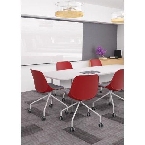 Móveis para Escritório: Cadeira Quick giratória diálogo, Plaxmetal