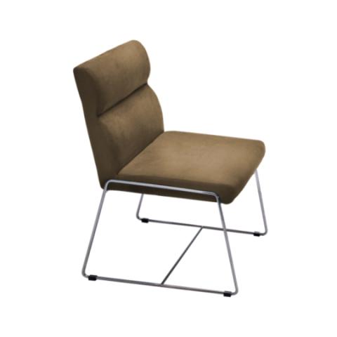 Móveis para Escritório: Cadeira da linha Amparo, secretária fixa sem braço