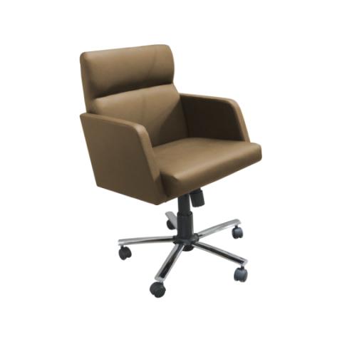 Móveis para Escritório: Cadeira da linha Amparo- secretária giratória