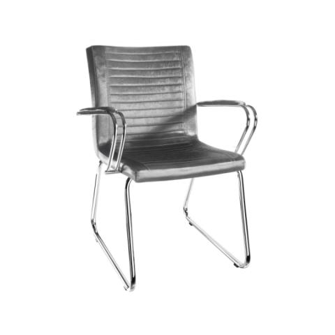Móveis para Escritório: Cadeira da linha Ely fixa com braço