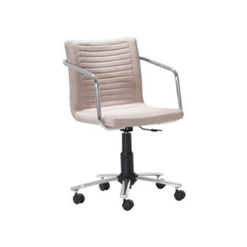 Móveis para Escritório: Cadeira da linha Ely concha giratória com braço