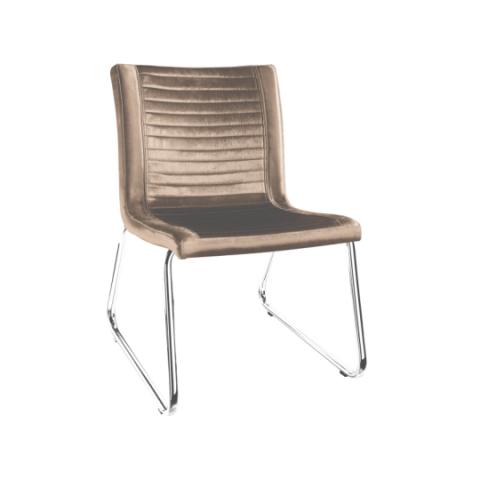 Móveis para Escritório: Cadeira da linha Ely fixa sem braço