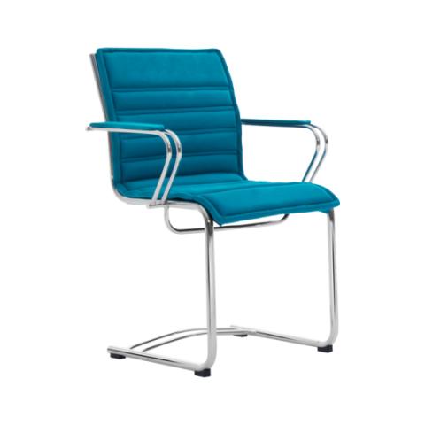 Móveis para Escritório: Cadeira da linha Havena secretária fixa com braço