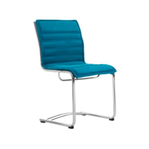 Móveis para Escritório: Cadeira da linha Havena fixa sem braço
