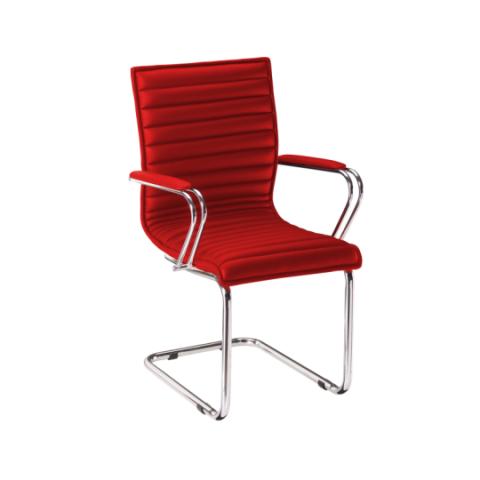 Móveis para Escritório: Cadeira da linha Perfectta secretária fixa com braço