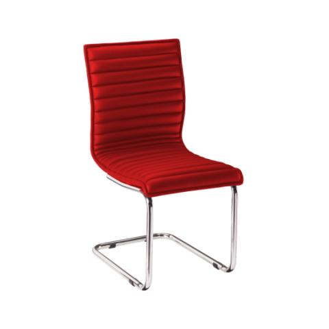 Móveis para Escritório: Cadeira da linha Perfectta secretária fixa sem braço