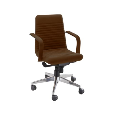 Móveis para Escritório: Cadeira da linha Personalitê diretor com braços