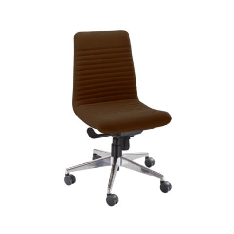 Móveis para Escritório: Cadeira da linha Personalitê diretor sem braços