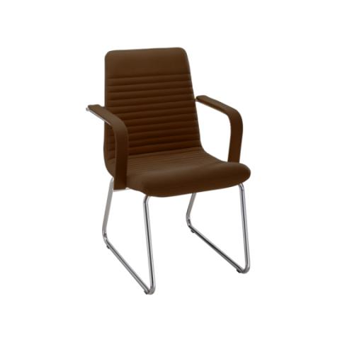 Móveis para Escritório: Cadeira da linha Personalitê secretária fixa com braços