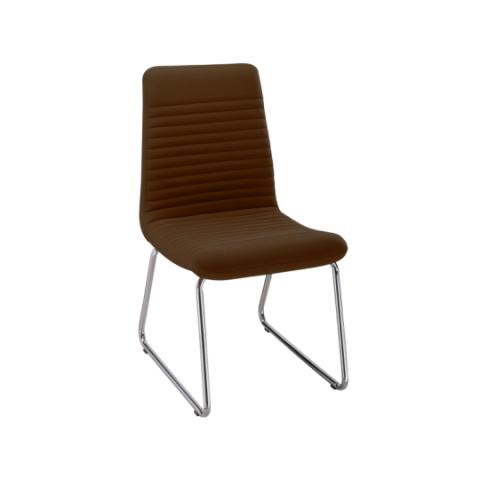 Móveis para Escritório: Cadeira da linha Personalitê secretária fixa sem braços