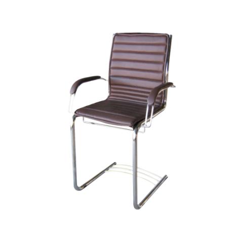 Móveis para Escritório: Cadeira da linha Sotille secretária fixa com braço