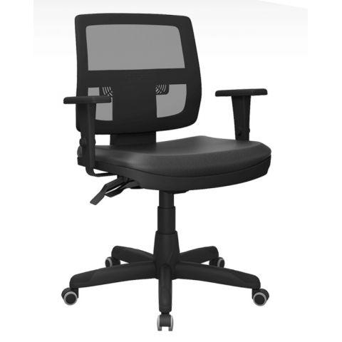 Móveis para Escritório: Cadeira Brizza tela executiva, Plaxmetal