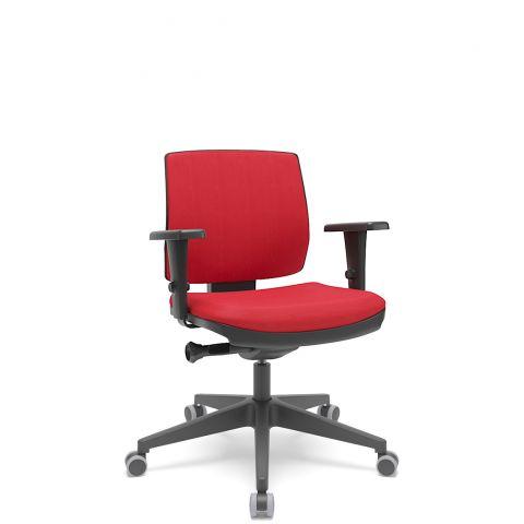 Móveis para Escritório: Cadeira Brizza soft executiva, Plaxmetal
