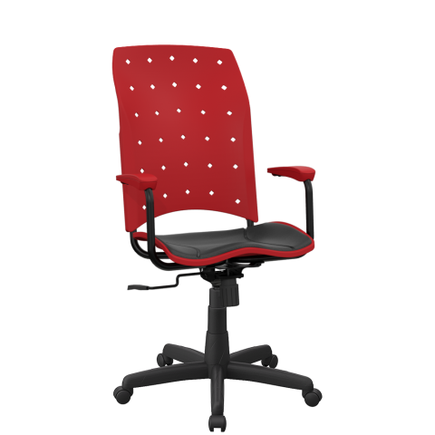Móveis para Escritório: Cadeira Ergoplax  presidente - Plaxmetal