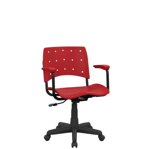 Móveis para Escritório: Cadeira Ergoplax  secretária - Plaxmetal