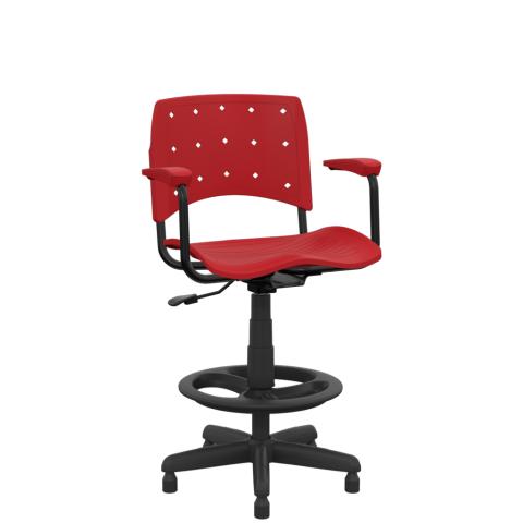 Móveis para Escritório: Cadeira Ergoplax  secretária caixa - Plaxmetal