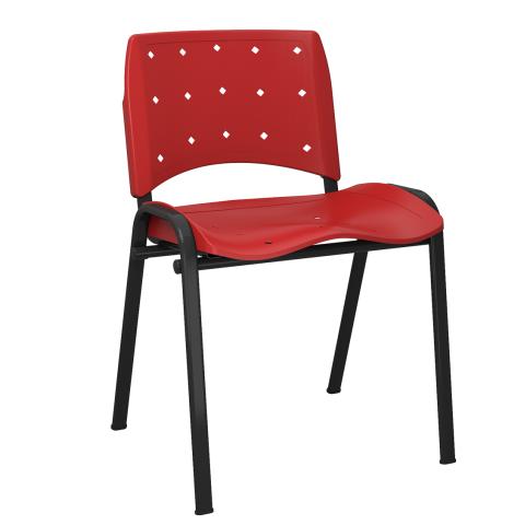Móveis para Escritório: Cadeira Ergoplax  fixa - Plaxmetal