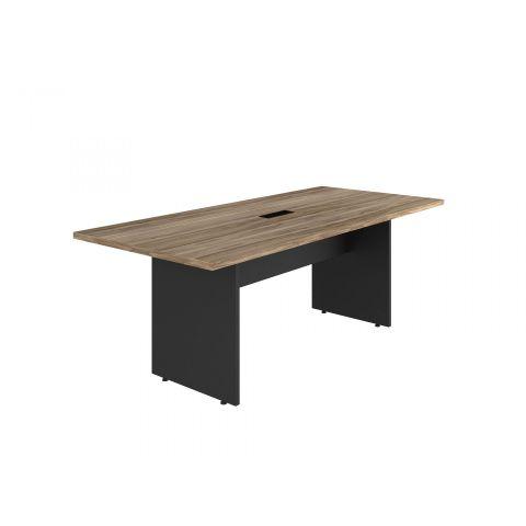 Móveis para Escritório: Mesa de reunião retangular com caixa de tomata , Yaris - Gebb Work
