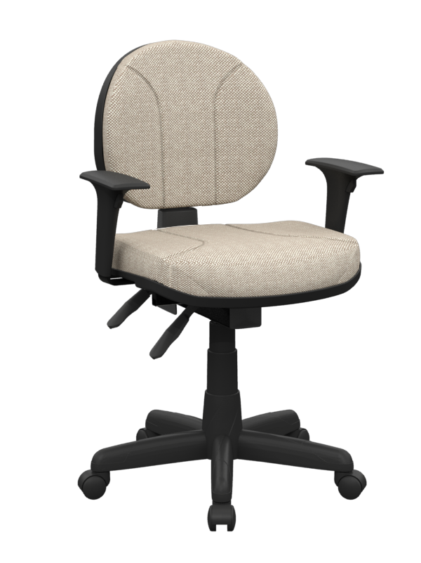 Cadeira operativa executiva backplax - Plaxmetal