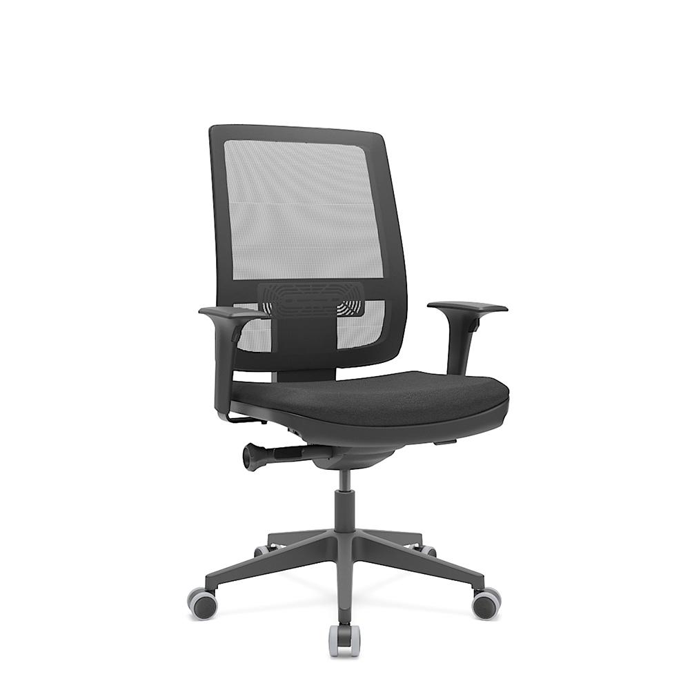 Cadeira Brizza tela presidente sem apoio de cabeça, Plaxmetal