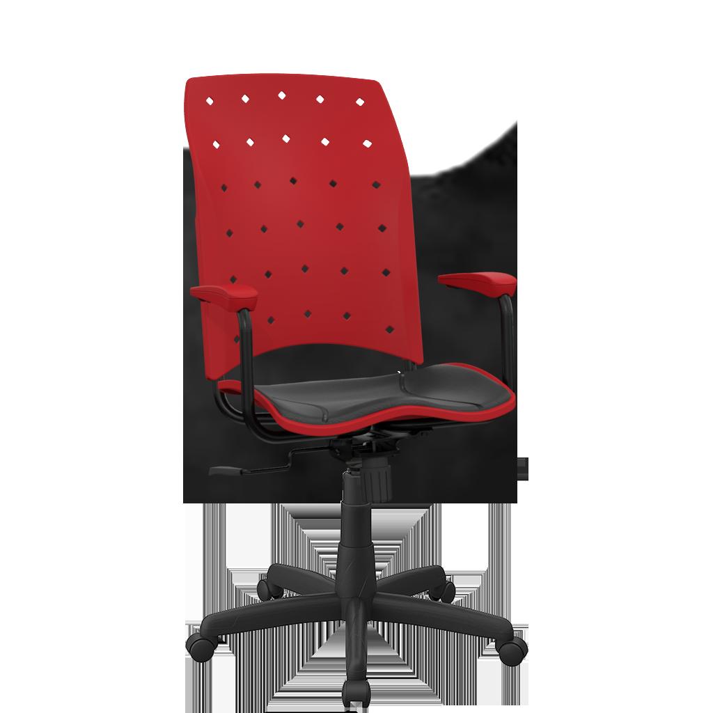 Cadeira Ergoplax  presidente - Plaxmetal