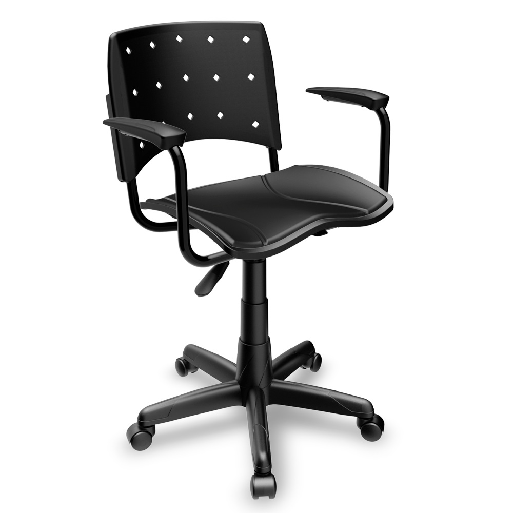 Cadeira Ergoplax  secretária - Plaxmetal